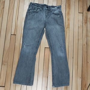 📣2/36$📣 True Religion distress gray jeans
